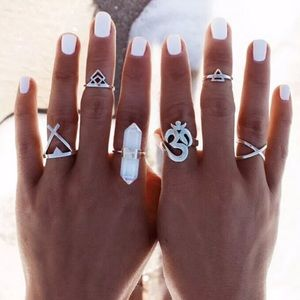 Jewelry - 6 pc. Boho Ring Set